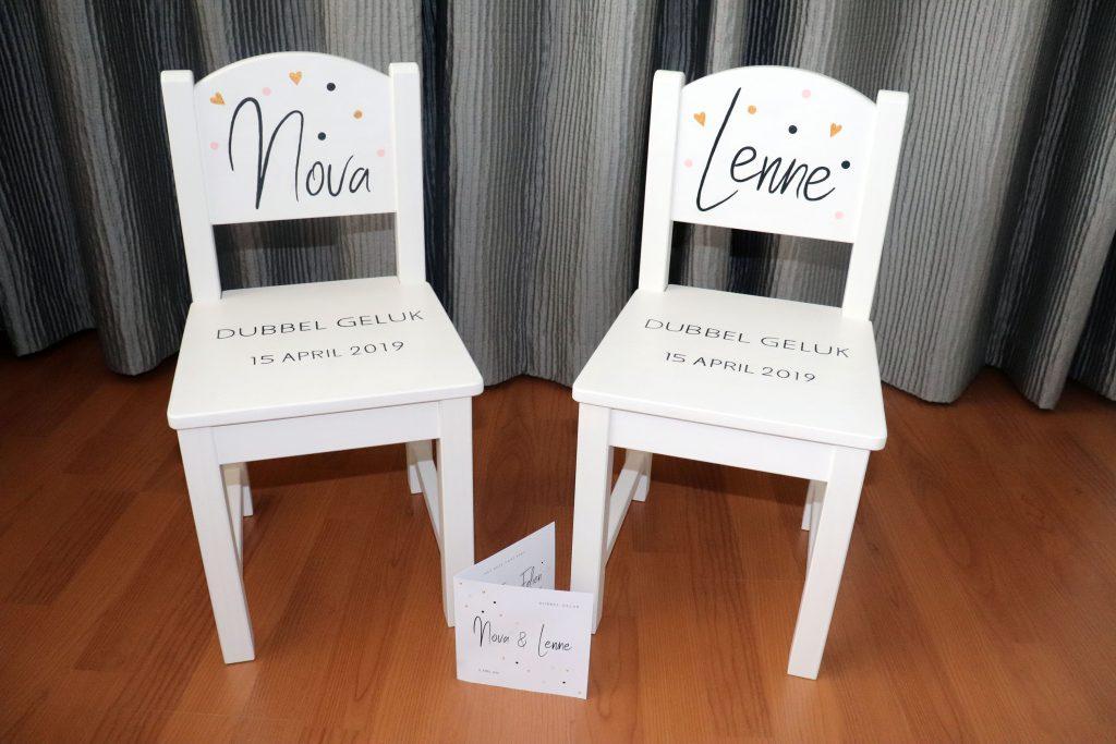 www.eefjemuurbloempje.nl 22 stoeltjes Nova & Lenne 2