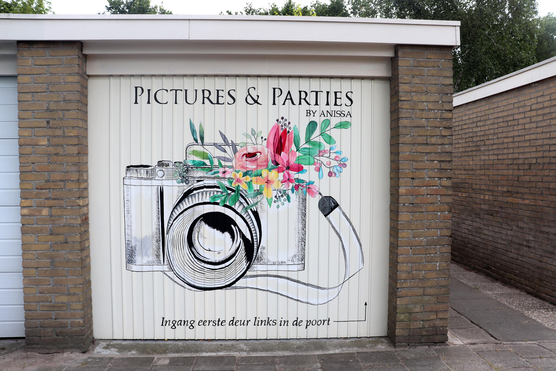 www.eefjemuurbloempje.nl 34 eefjemuurbloempje garage deur logo pictures & parties